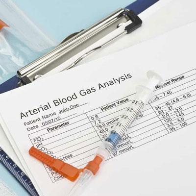 تفسیر گاز های خون شریانی