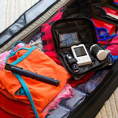 مسافرت فرد مبتلا به دیابت