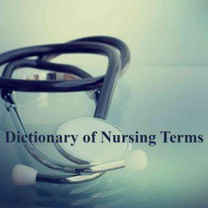 دیکشنری اصطلاحات تخصصی پرستاری